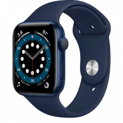 Умные часы Apple Watch Series 6 GPS 44mm Aluminum Case with Sport Band Blue