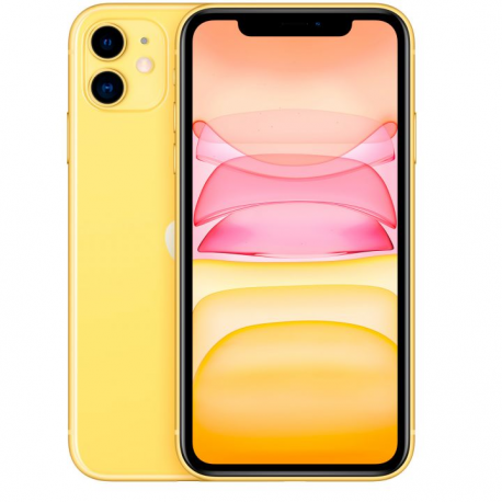 Смартфон Apple iPhone 11 128Gb Yellow (2 sim)