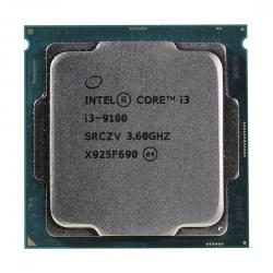 CPU INTEL CORE I3 9100 3,6GHZ (4,2GHZ) 6MB 4/4 CORE COFFE LAKE 65W FCLGA1151 TRAY