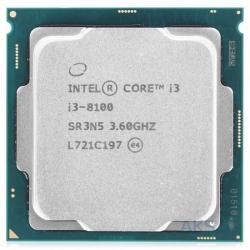 CPU INTEL CORE I3 8100 3,6 GHZ