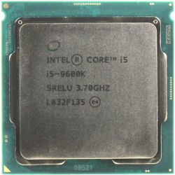 Процессор CPU INTEL CORE I5 9600K 3,7GHZ