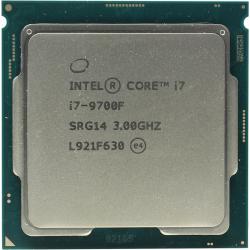 Процессор CPU INTEL CORE I7 9700F 3,0GHZ