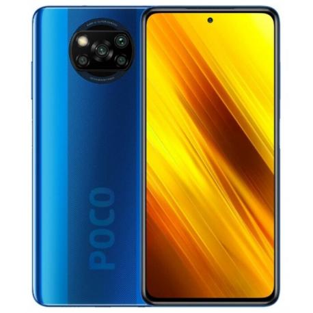 Смартфон Xiaomi Poco X3 6/128GB Blue